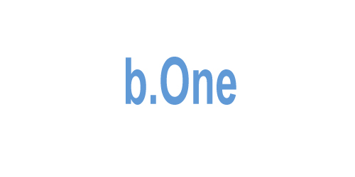 Логотип баннерной системы b.One