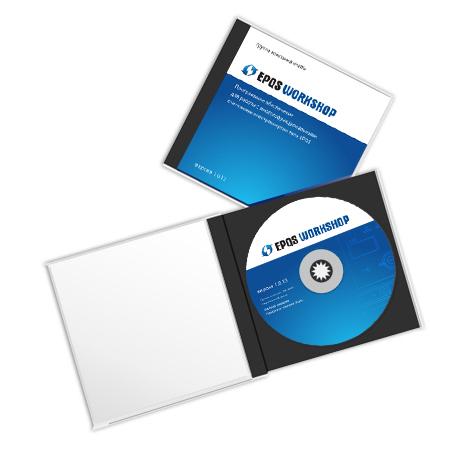 EPQS workshop - коробка с диском