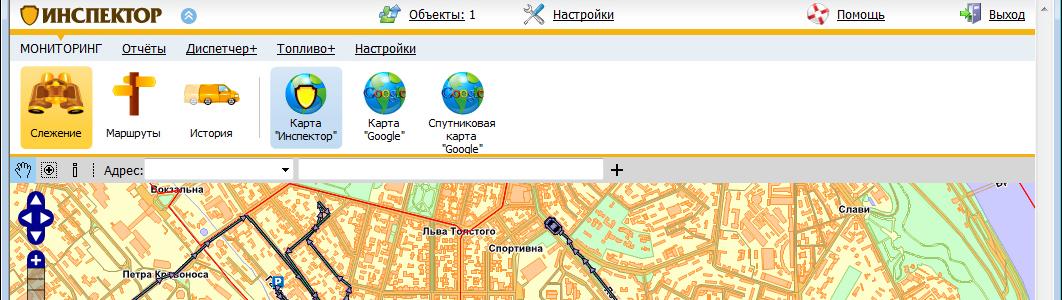 Запуск второй версии системы GPS мониторинга «Инспектор»
